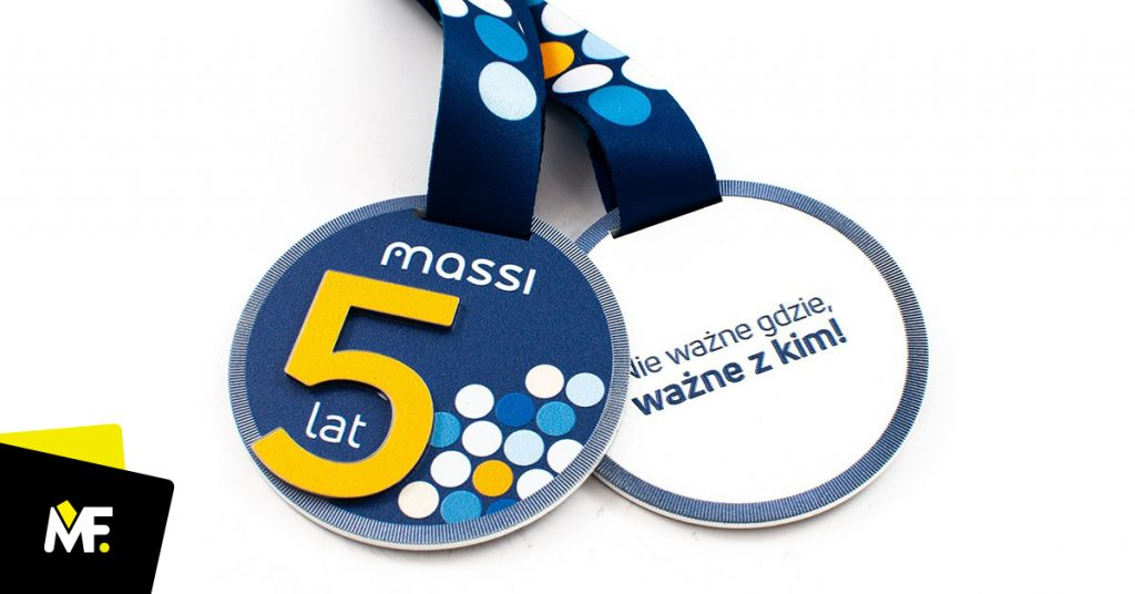 Medal biznesowy 5-lecie Massi