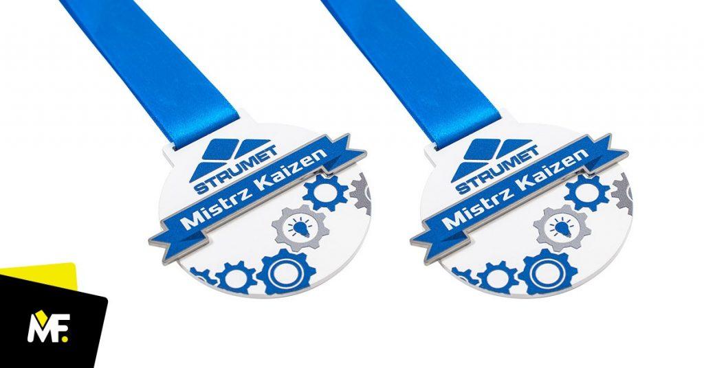 Medale firmowe Mistrz Kaizen