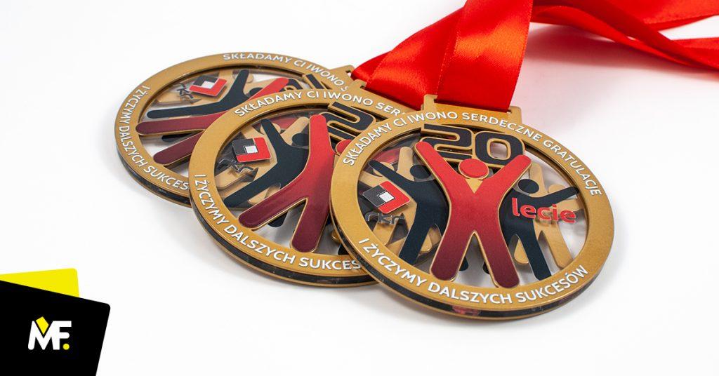 Medale dla pracowników 20-lecie firmy